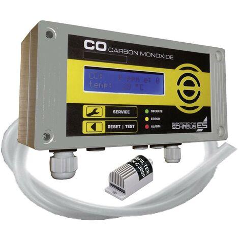 Détecteur de gaz Schabus GX-C300P 300256 avec capteur interne sur secteur 1 pc(s)