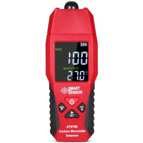 Detecteur de monoxyde de carbone Xima ST9700 Envoi d'alarme sonore et lumineuse CO toxique sans batterie