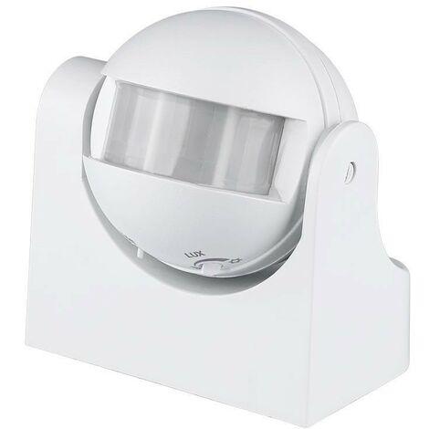 Détecteur de mouvement a infrarouge 180° Orientable Assemblage a plafon (Max 300W) IP44