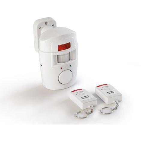 Détecteur de mouvement, ControlAlarm, autonome blanc