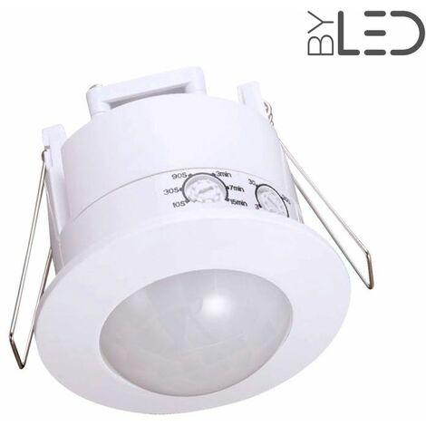 Détecteur de mouvement infrarouge encastrable - Blanc - (groom GR-03) | Finition Blanc