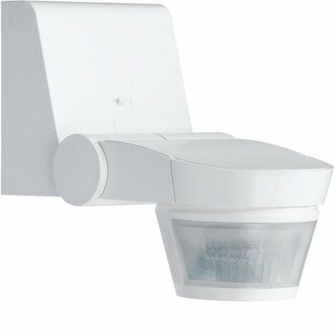Détecteur de mouvement infrarouge évolué mural 140° blanc (52120)