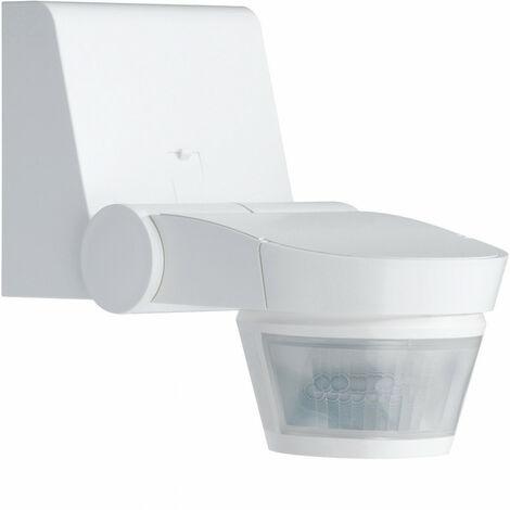 Détecteur de mouvement infrarouge évolué mural 220° blanc (52220)