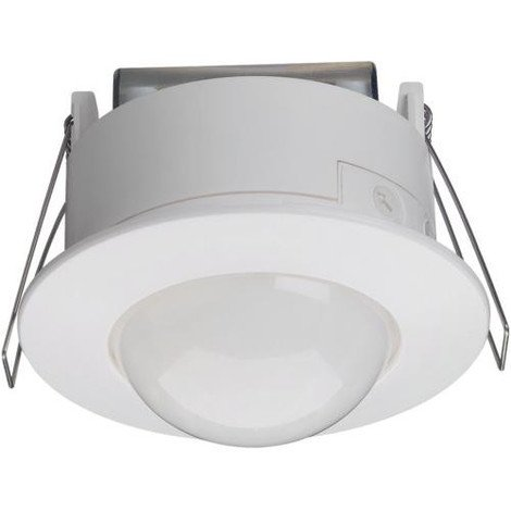Détecteur de mouvement infrarouge plafond semi-encastré 360° - Blanc -52371 - Hager