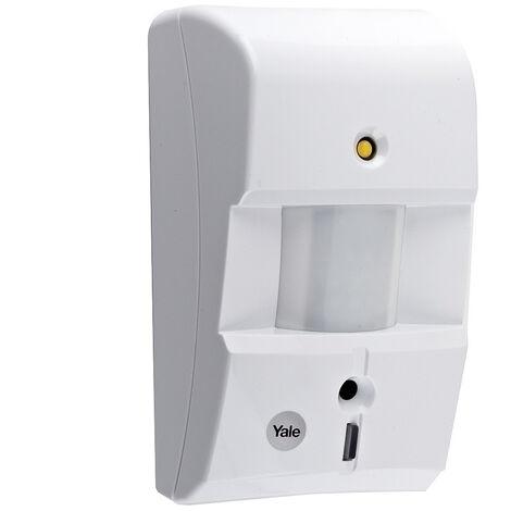 d tecteur de mouvement vid o pour alarme connect e yale. Black Bedroom Furniture Sets. Home Design Ideas