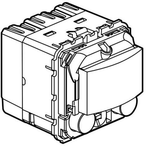Détecteur de mouvements BUS Céliane pour espace de travail avec poussoir (067226)