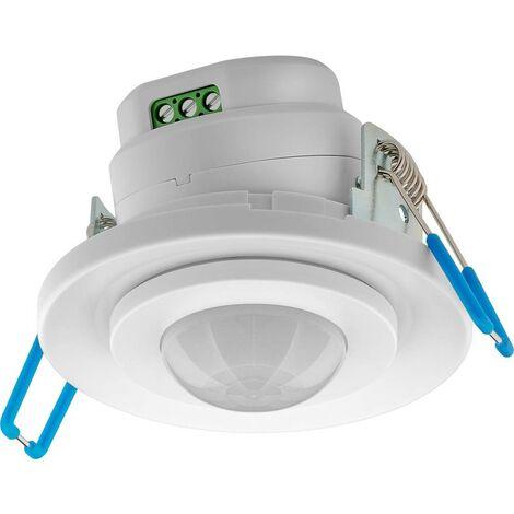 Détecteur de mouvements PIR Goobay 71362 intérieure montage apparent (en saillie) 360 ° relais blanc IP20