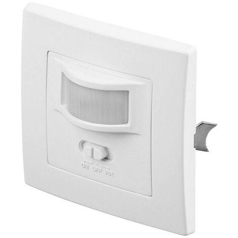 Détecteur de mouvements PIR Goobay 96005 intérieure encastré 160 ° TRIAC blanc IP20