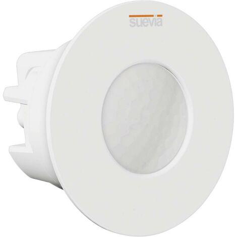 Détecteur de mouvements Suevia SU136012 intérieure, extérieure encastré, plafond 360 ° blanc IP20