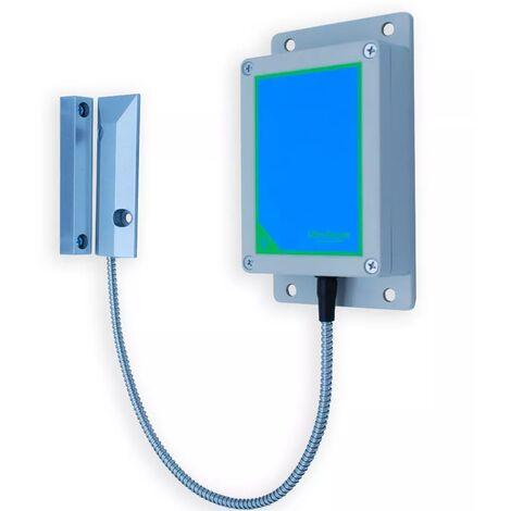 Détecteur d'ouverture supplémentaire 800 mètres sans-fil - métal gaine renforcée + émetteur boîtier IP65 (PROTECT 800)