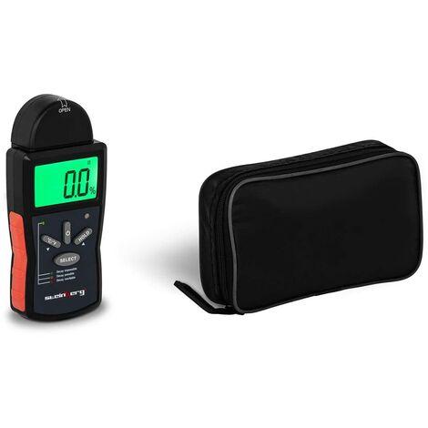 Détecteur Humidité Bois Testeur d'Humidité Hydromètre Humidimètre LCD 6 - 42 %