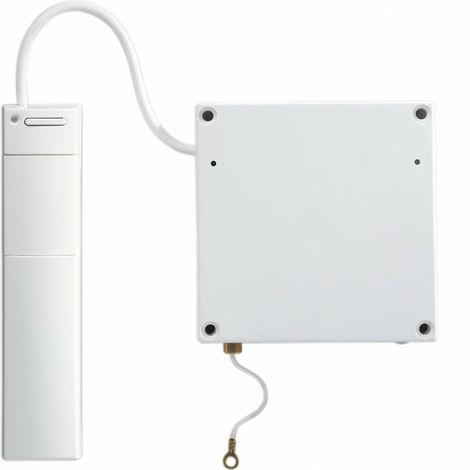 Détecteur pour volet roulant sepio radio, brun (alimentation BATLi28 fournie) (S236-22X)