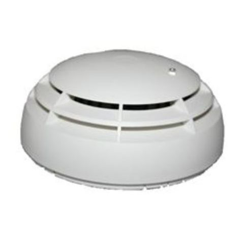 Detectomat PL 3302 O - Smoke detector optical Adressable with ICC
