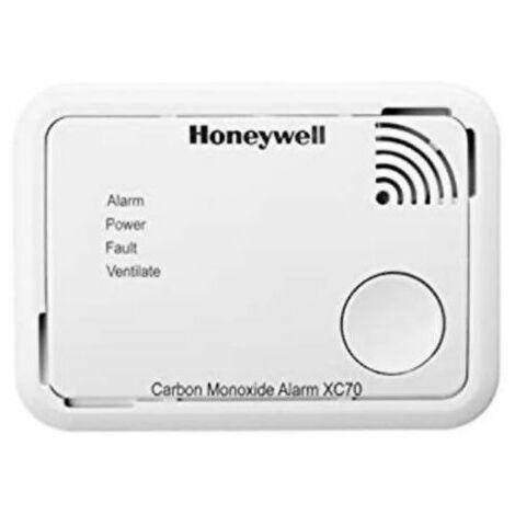 Detector autónomo de CO con batería XC70-ESPT de Honeywell