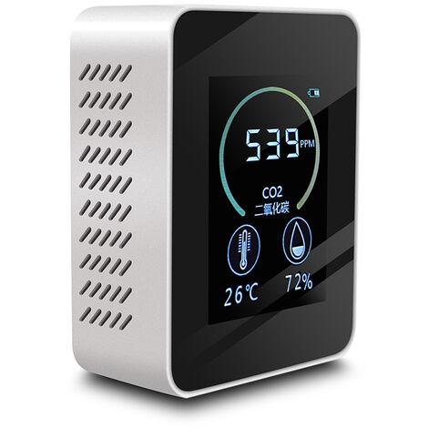 Detector de CO2 de dioxido de carbono, monitor de contenido de concentracion de gas, rango de medicion de 400-5000PPM