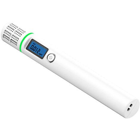 Detector de fugas de gas natural portatil con pantalla LCD