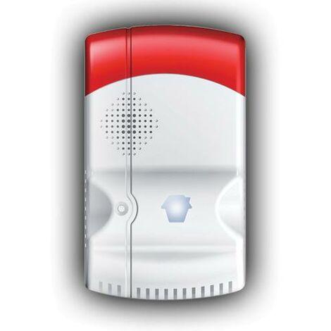 Detector de Fugas Gas Natural, butano o propano, Inalambrico Alarma CHUANGO G5