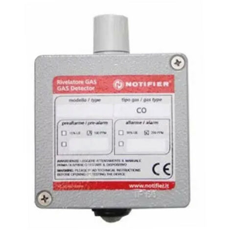 Detector de gas natural Minigas catalítica Notificador IP55 G700C-COMO