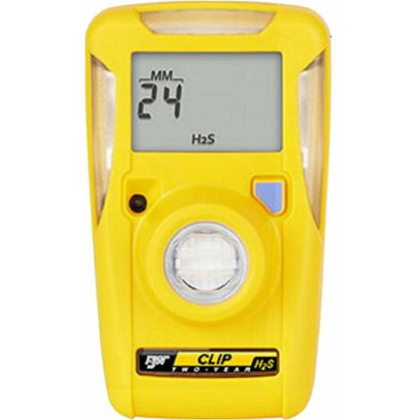 Detector de Gas Portátil Monogas ácido sulfhídrico Desechable BW Clip, H2S