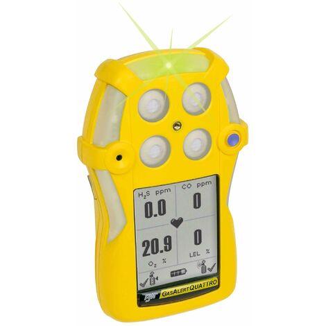 Detector de Gas Portátil Multigas GasAlertQuattro