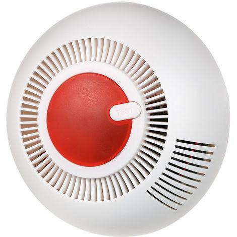 Detector de humo fotoelectrico independiente, sistema de alarma inalambrico
