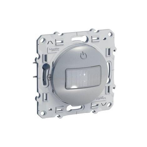 Detector de movimiento 10A Odace Plata SCHNEIDER S530525