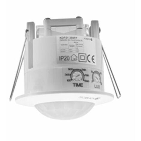Detector de movimiento de empotrar por tecnologia PIR KDP21 360FP