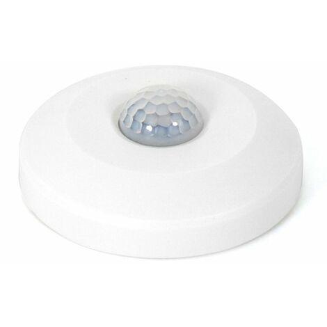 Detector de Movimiento PIR Mini UFO 360º Superficie Blanco | IluminaShop