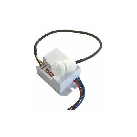 Detector de movimiento por infrarrojos empotrable mini 60.259 Electro DH