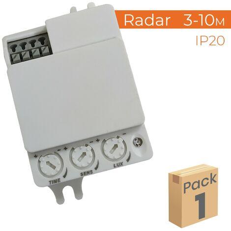 Detector de Movimiento por Radar 360º Especial Plafones