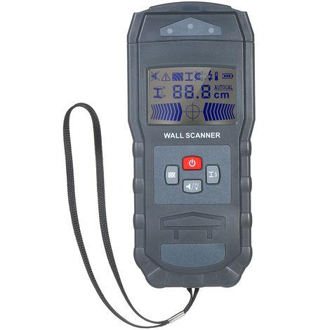 Detector de pared Sensor de pared Buscador, pernos de metal Deteccion de cable de CA
