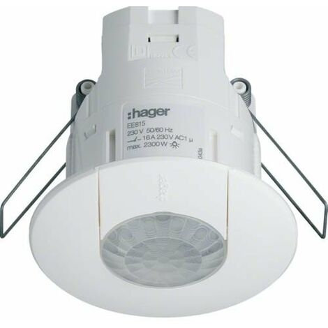 Detector de presencia infrarojos 360º HAGER EE815