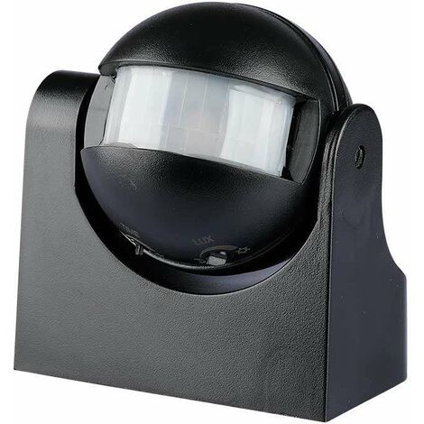 Detector de presencia por infrarrojos de pared en superficie blanco