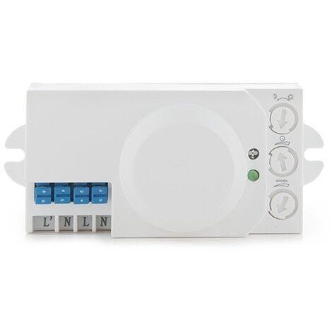 Detector de Presencia por Microondas 360º 2-10M hasta 1200/300W