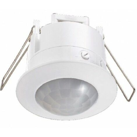 Detector Movimiento Empotrar Blanco Eleectro Dh