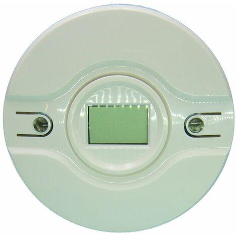 Detector Vía radio CO monóxido autonomo