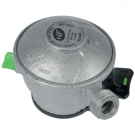 Détendeur avec système clic rapide 27 mm pour gaz butane