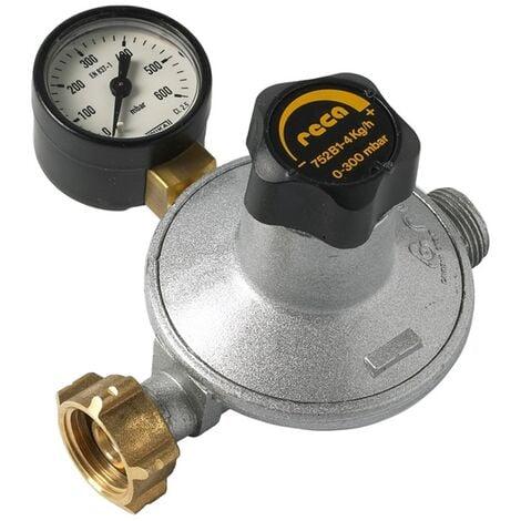 Détendeur basse pression Propane réglable 4kg/h - Ec. bouteille/M20x150 - Favex
