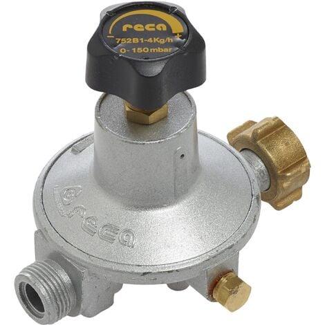 Détendeur basse pression réglable Propane 0 à 150mb - éc.bout/ M20x150 - Favex