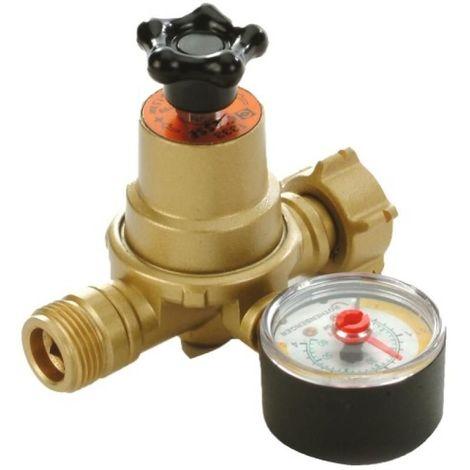 Détendeur butane-propane 1333 à pression réglable écrou bouteille / M20x1,5 - 5-10 kg/h - pression de sortie 1 à 3 bar