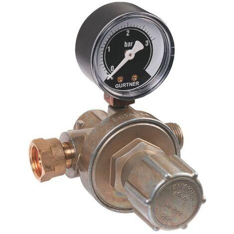 Détendeur gaz propane réglable - Haute pression - Pour citerne - Gurtner