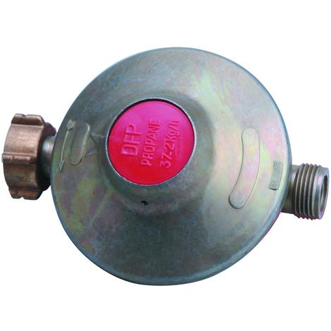 Détendeur propane fixe F bout./m 20x150 2kg/h 37mb coque