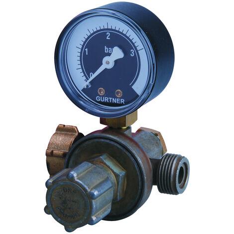 Détendeur réglable propane avec manomètre haute pression