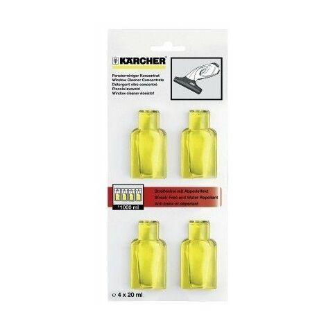 Détergent concentré pour vitres KARCHER 4x20ml - 6.295-302.0