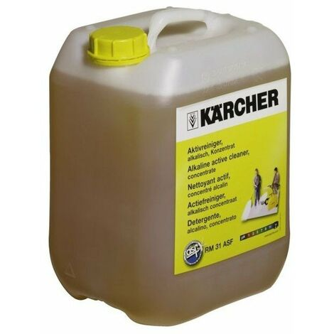 Detergent degraissant alcalin pour nettoyeur hp rm 31asf bidon de 2.5