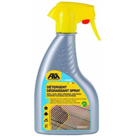 Détergent dégraissant spray FILA HOBBY - Le flacon vaporisateur de 500 ml