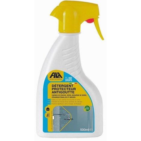 Détergent protecteur anti-goutte FILANO DROPS - Le flacon vaporisateur de 500 ml