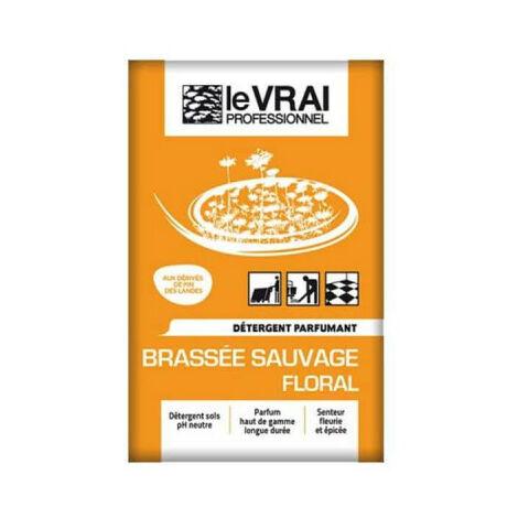 Détergent sols le vrai professionnel Brassée Sauvage - 125 doses de 16 mL