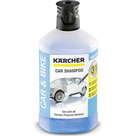 Detergente Karcher Shampoo per Auto e Moto 3 IN 1 - 1 L Per Idropulitrici