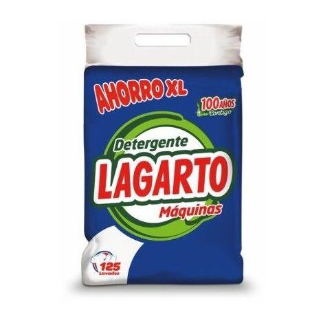 Detergente Limpieza Maquina 125 Lavados Saco Lagarto 10 Kg